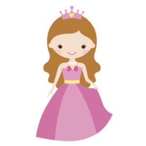 Bügelbild Prinzessin