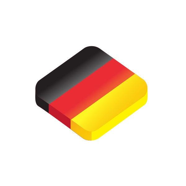 Bügelbild Deutschland