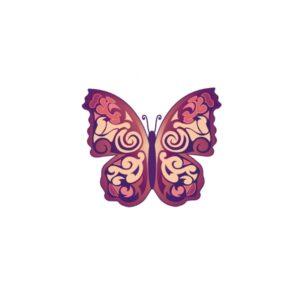 Bügelbild Schmetterling 2
