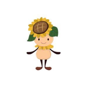 Bügelbild Mr. Sonnenblume