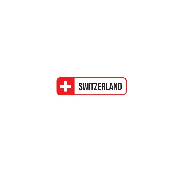 Bügelbild Switzerland