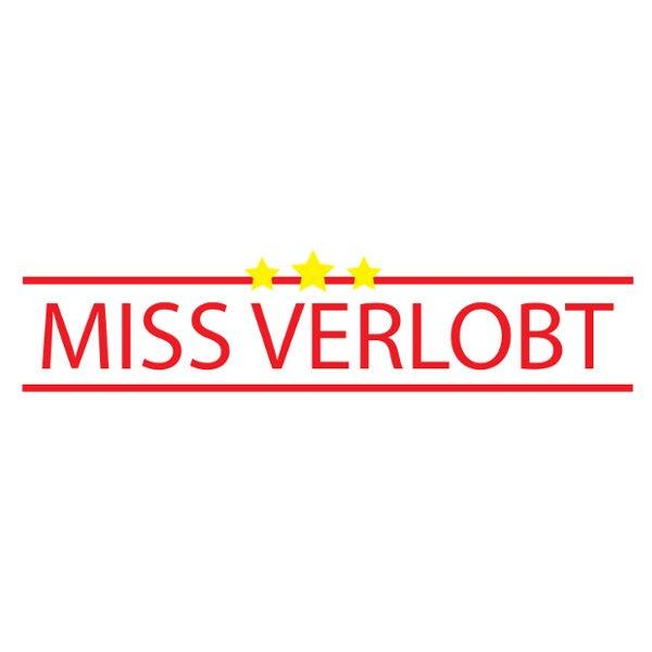 Bügelbild Miss Verlobt