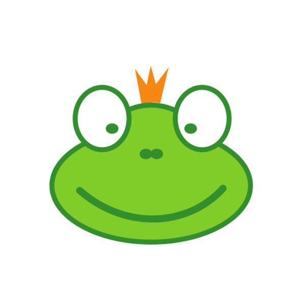Bügelbild Froschkönig
