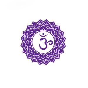 Bügelbild Sahasrara Chakra