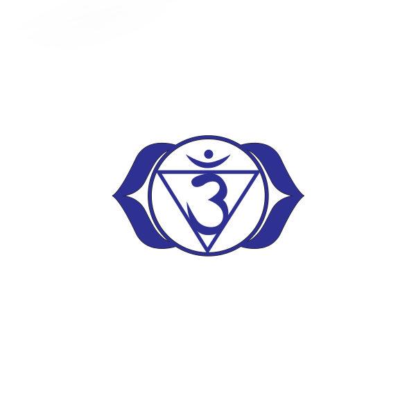 Bügelbild Ajna Chakra