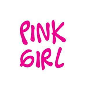 Bügelbild Pink Girl