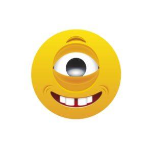 Bügelbild Emoji - EINAUGE