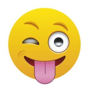 Bügelbild Emoji - ÄTSCH