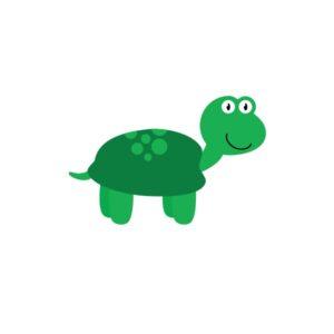 Bügelbild Schildkröte