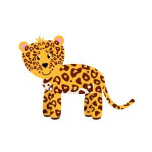 Bügelbild Leopard