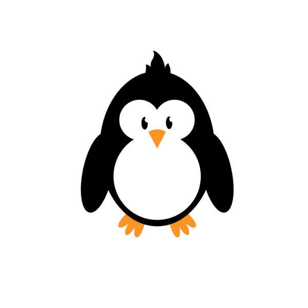 Bügelbild Pingu