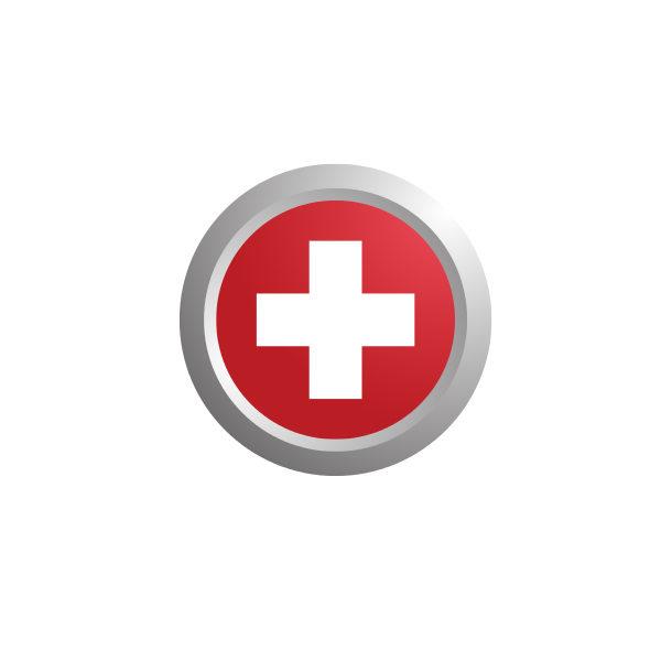 Bügelbild Schweiz