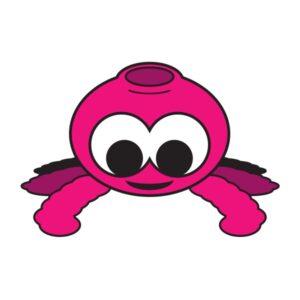 Bügelbild Pinky Spider