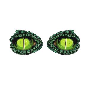 Bügelbild Augen 008