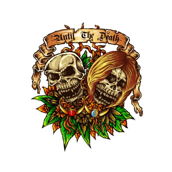 Bügelbild Until the death