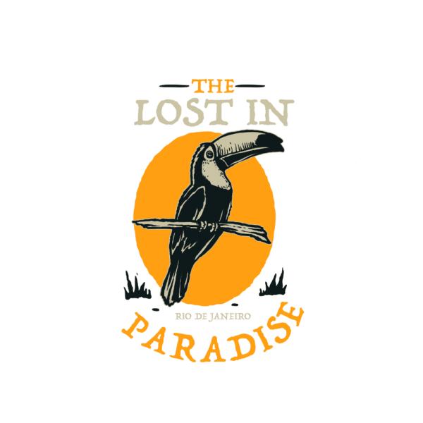 Bügelbild The Lost in Paradise