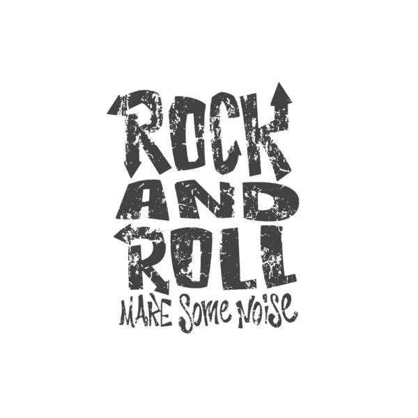Bügelbild Rock n Roll