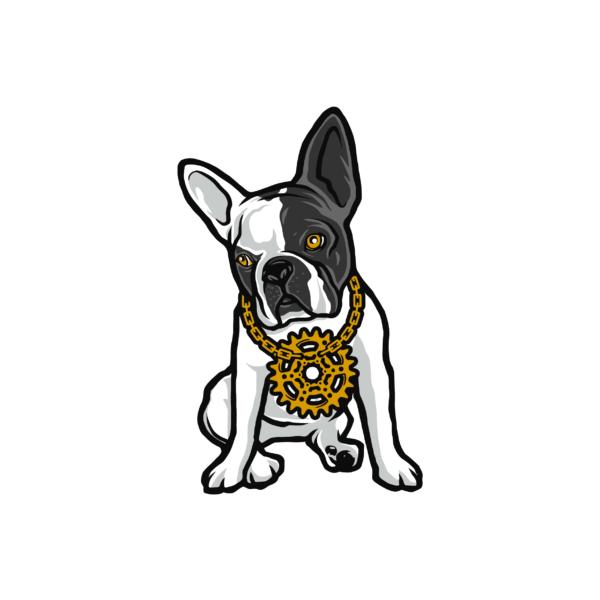 Bügelbild Little B-Dog