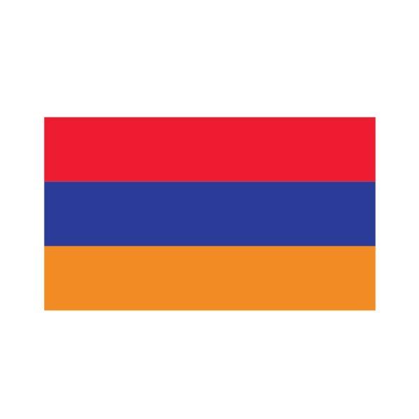 Bügelbild Armenien Flagge