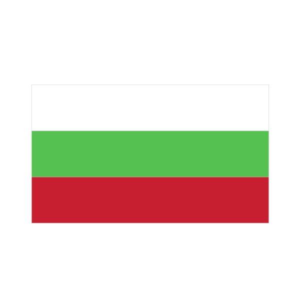 Bügelbild Bulgarien Flagge