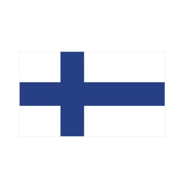 Bügelbild Finnland Flagge