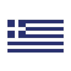 Bügelbild Griechenland Flagge