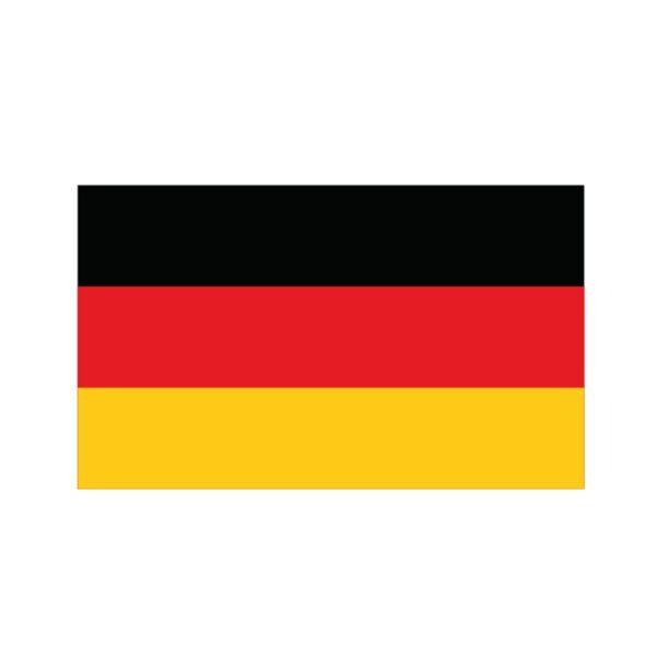 Bügelbild Deutschland Flagge