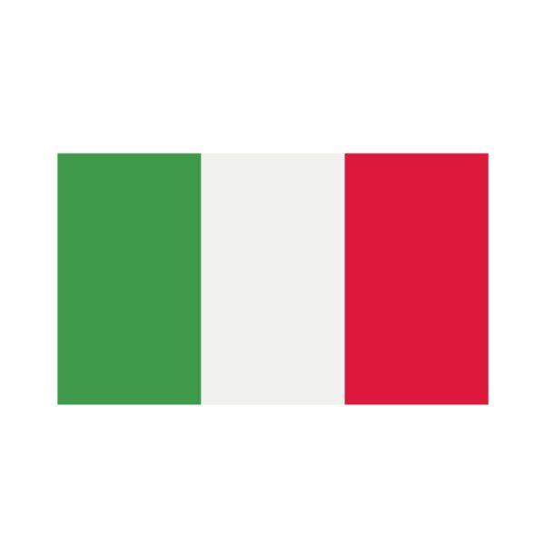 Bügelbild Italien Flagge