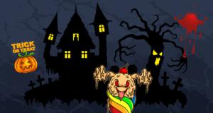 Bügelbilder für Halloween