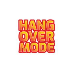 Bügelbild Hang Over Mode
