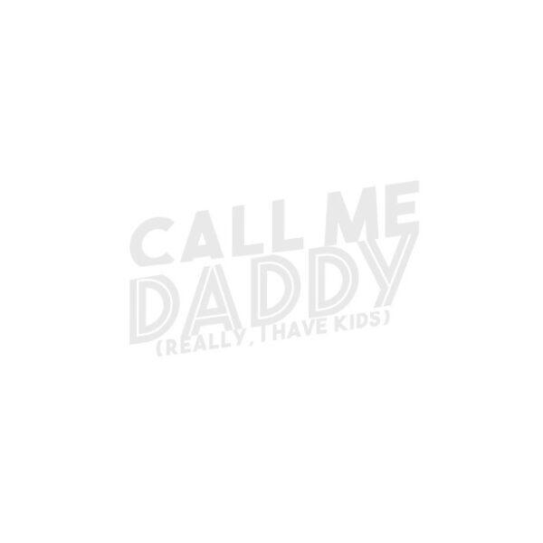 Bügelbild Call me Daddy