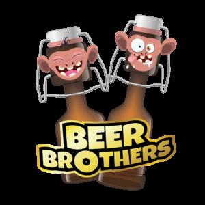 Bügelbild Beer Brothers