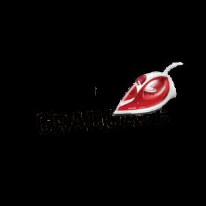"""Wunschtext """"Graduate"""" als Bügelschrift"""